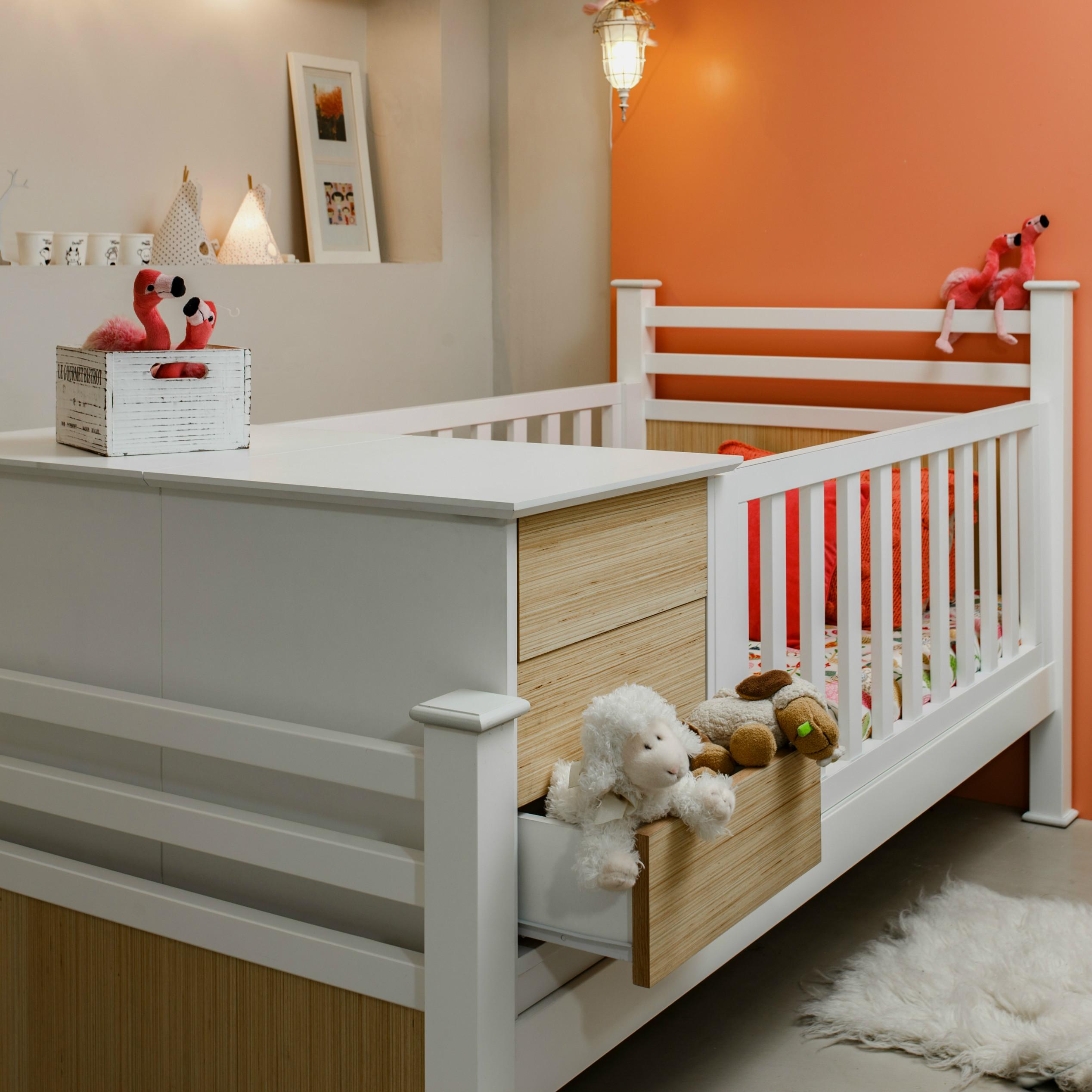 Cuna funcional bel n 3 fajas el corral muebles - Cuna que se convierte en cama ...